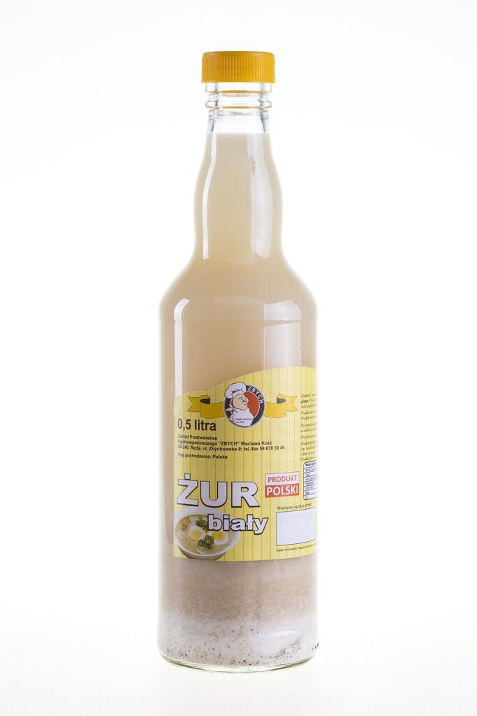 Żur biały w butelce 0.5 L